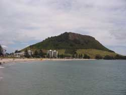 Mount Manganui - by Maggie Trachel